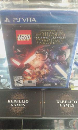 Lego Star Wars The Force Awakens Psvita 0