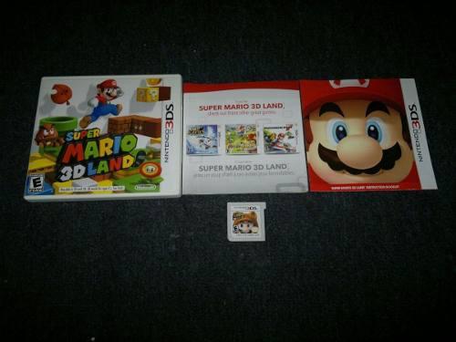 Super Mario 3d Land Completo Para Nintendo 3ds,excelente 0