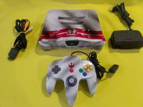 Consola Nintendo 64 Personalizada Star Wars Rogue Squadron 0