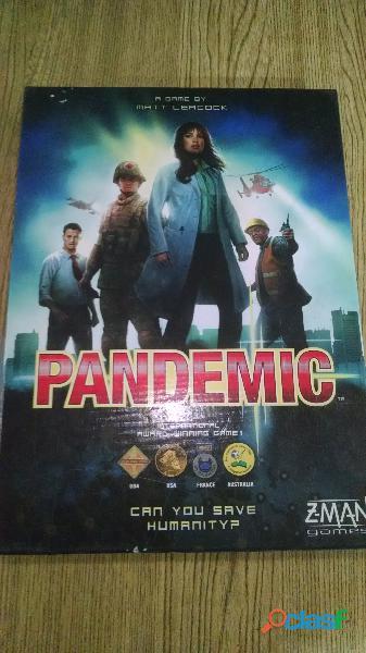 Juego de Mesa Pandemic 0
