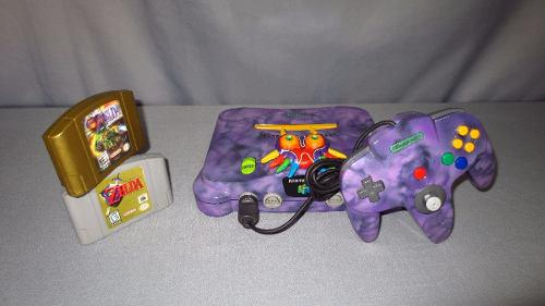 Consola Nintendo 64 Personalizada Zelda Majora´s Mask N64 0