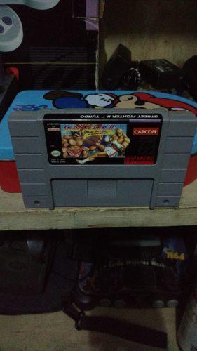 Super Street Fighter 2 Turbo Snes Excelente Estado 0