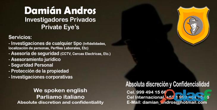 Agencia Damián Andros Investigadores Privados 0