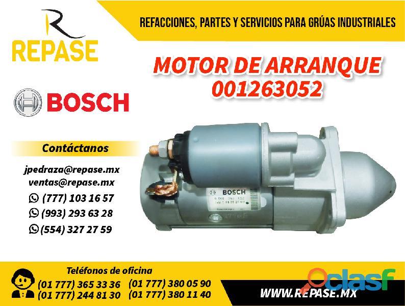 Motor de arranque #001263052 0
