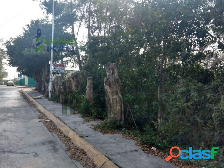Terreno Venta frente IMSS esquina Tuxpan Veracruz, Petrolera 1