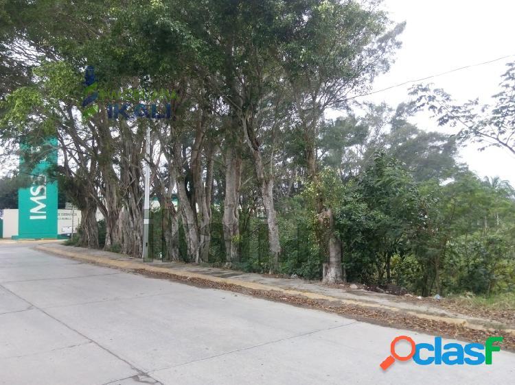 Terreno Venta frente IMSS esquina Tuxpan Veracruz, Petrolera 3