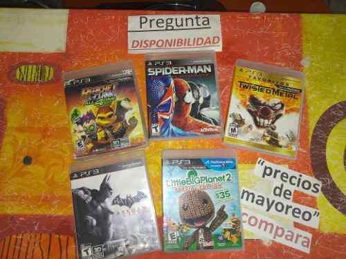 Lote Juegos Ps3 0