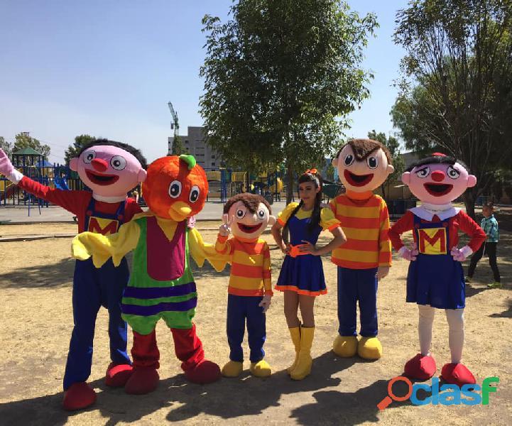 Show infantil de bely y beto en cdmx 2