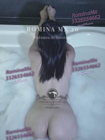 Romina Puro fuego y calentura para Caballeros en Jalisco 0