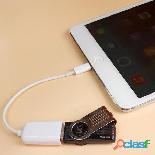 CABLE PARA Pad4, iPad Air, iPad mini.8 PINES lightning A USB HEMBRA 5