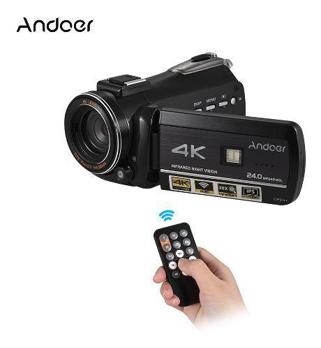 Andoer Ac3 4k Uhd 24mp Cámara De Vídeo Digital 0