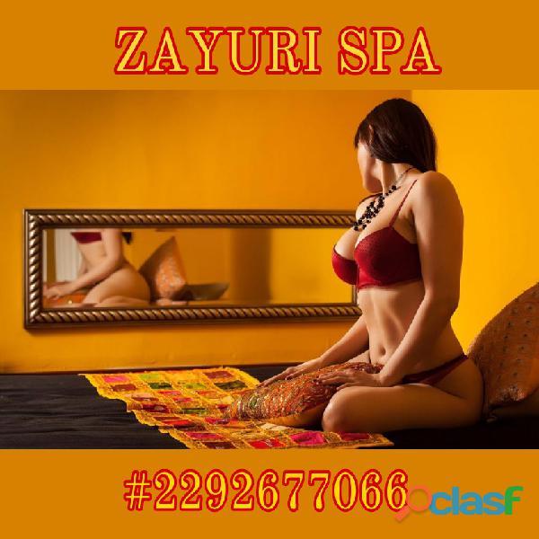En ningún lugar te tratarán tan bien como nosotras, en Zayuri somos expertas en el arte del erotismo 1