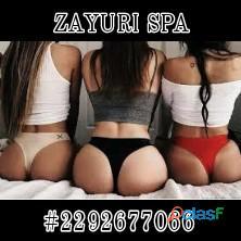 En ningún lugar te tratarán tan bien como nosotras, en Zayuri somos expertas en el arte del erotismo 2