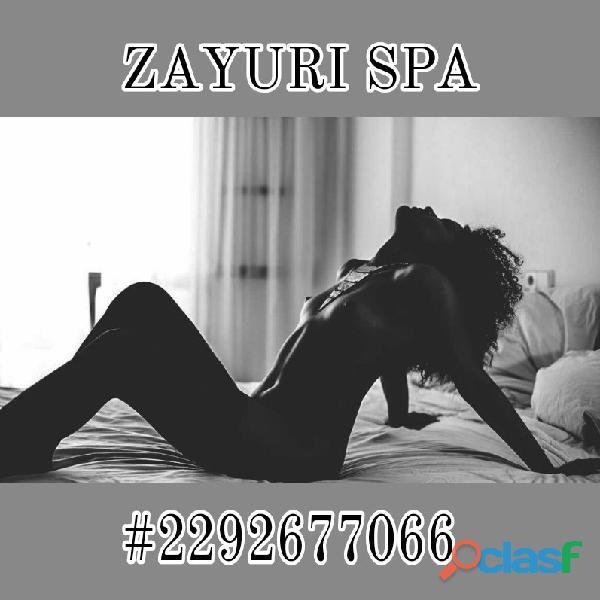 En ningún lugar te tratarán tan bien como nosotras, en Zayuri somos expertas en el arte del erotismo 3