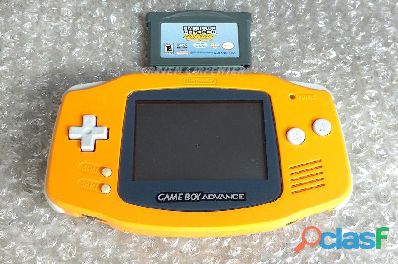 Game Boy Advance Spice Orange 0