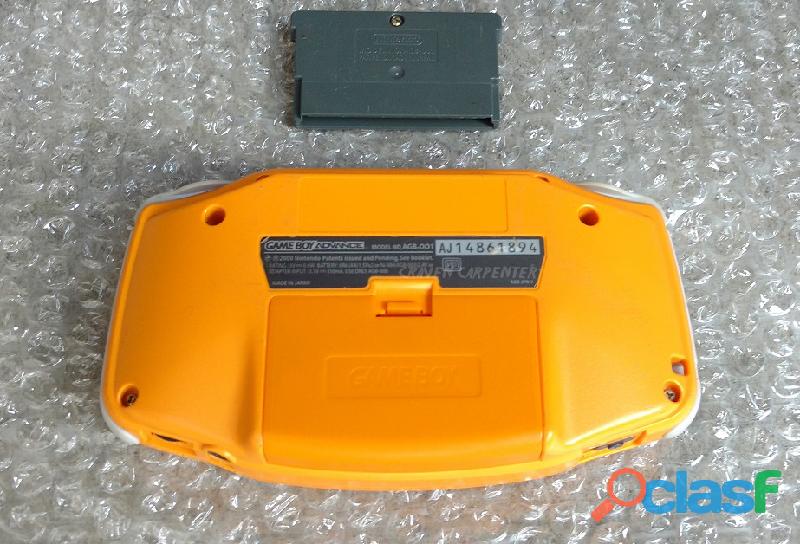 Game Boy Advance Spice Orange 1