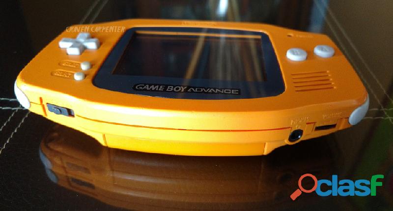 Game Boy Advance Spice Orange 2