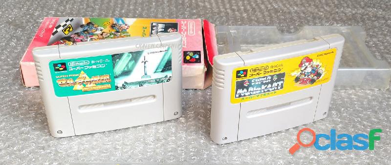 Juegos para Nintendo Super Famicom 0