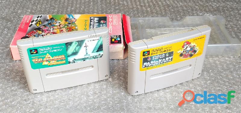 Juegos para Nintendo Super Famicom 1