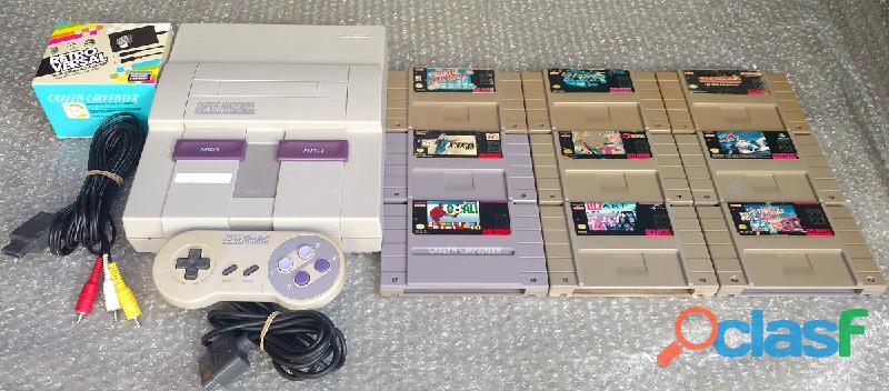 Super Nintendo con juegos LEER DESCRIPCIÓN 0