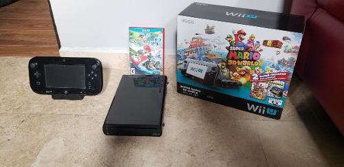 Nintendo Wii U Con Juego Mario Kart 8 0