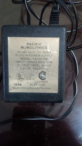 Fuente Adaptador Monolithics P-41-139d 1294 Lr 53936 Antena 0