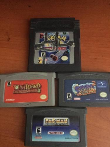 Juegos Gameboy Pokemon, Yoshiisland Etc 0