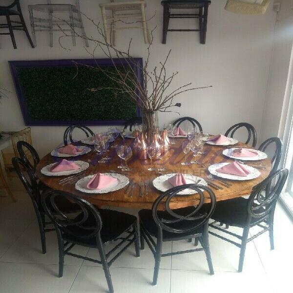 Renta mesas madera para fiestas puebla 0