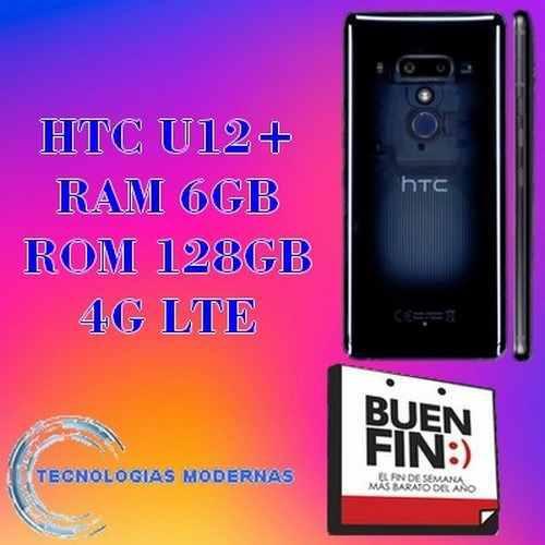 Htc U12+ Plus Rom 128gb Octa-core 6gb Ram Lte 0