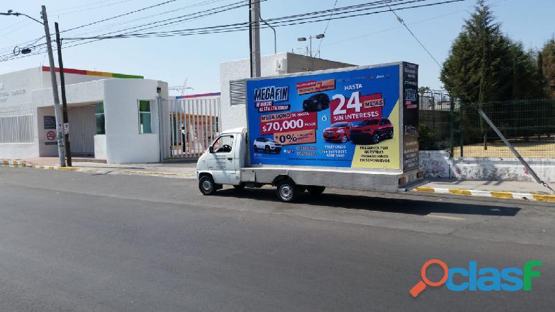 Vallas Móviles Innovadoras en Tuxtepec, Oaxaca 2