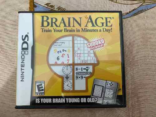 Juego Para Nintendo Ds Brain Age Precio Negociable 0