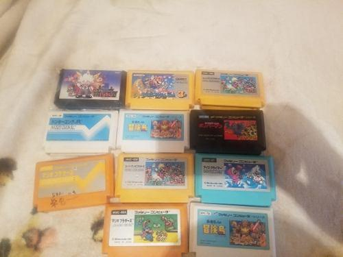 Juegos Nintendo Famicom Originales 0
