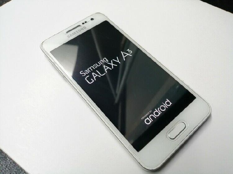 Samsung Galaxy A3 Blanco 0
