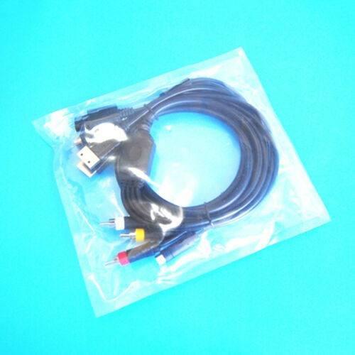 Consola Av-s Rca Cable De Audio Para Sega Saturn Ss Dc Ps1 P 0