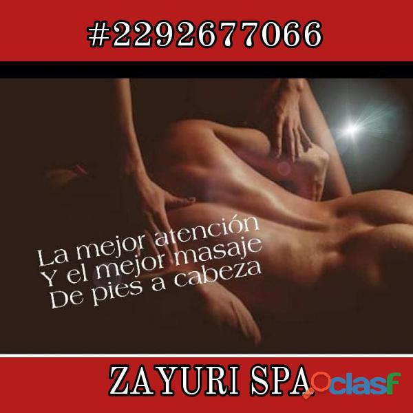 El erotismo y la sexualidad más explosiva esta en en ZAYURI SPA.... 1