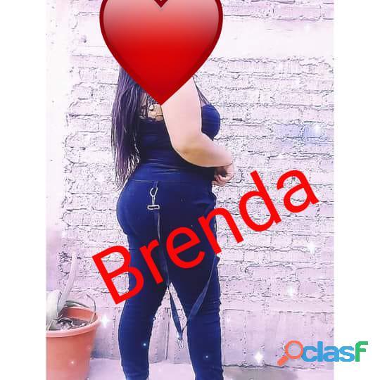 LINDA NENA FRONDOSITA, DE RICOS PECHOS GRANDES, NALGONCITA CACHONDA Y MUY COMPLACIENTE... BRENDA!!! 2