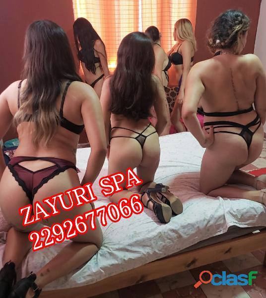 Que el calor que recorra tu cuerpo sea el del placer que emana Zayuri Spa 0