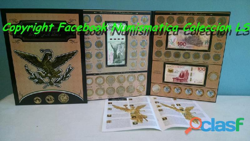 Coleccion de monedas de 5, 10 y 20 conmemorativas ls