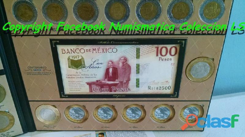 Coleccion de monedas de 5, 10 y 20 conmemorativas LS 1