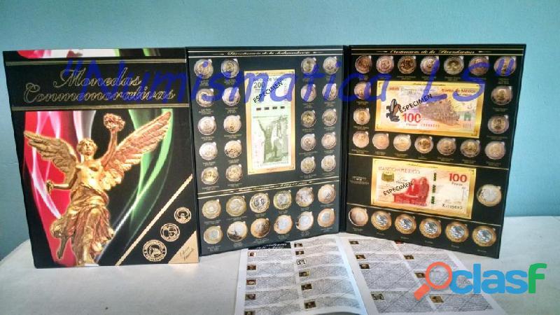 Coleccion de monedas de 5, 10 y 20 conmemorativas LS 2
