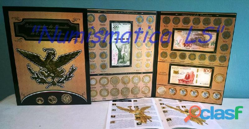 Coleccion de monedas de 5, 10 y 20 conmemorativas LS 3