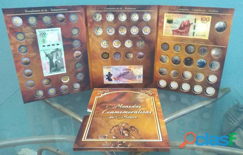 Coleccion de monedas de 5, 10 y 20 conmemorativas LS 5