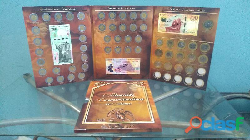Coleccion de monedas de 5, 10 y 20 conmemorativas LS 6