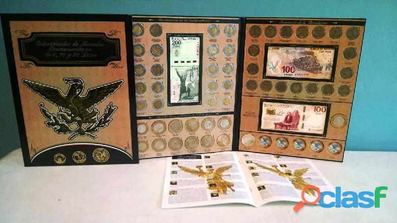 Coleccion de monedas de 5, 10 y 20 conmemorativas LS 9
