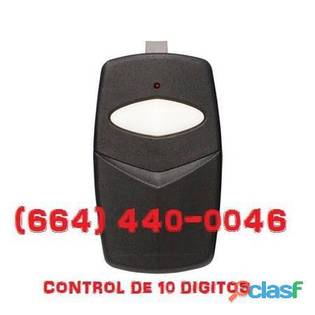 Controles para porton electrico