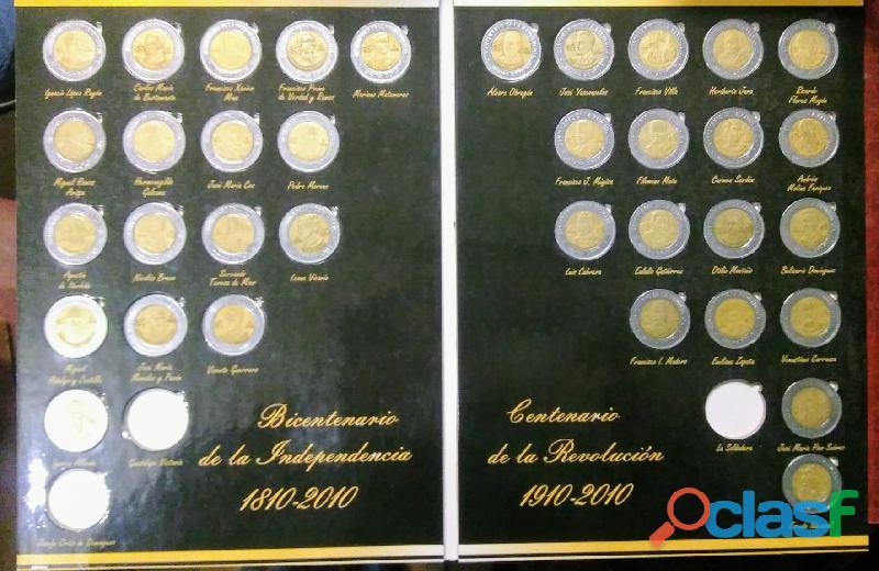 Coleccion completa monedas Bicentenario SALTILLO LS 2