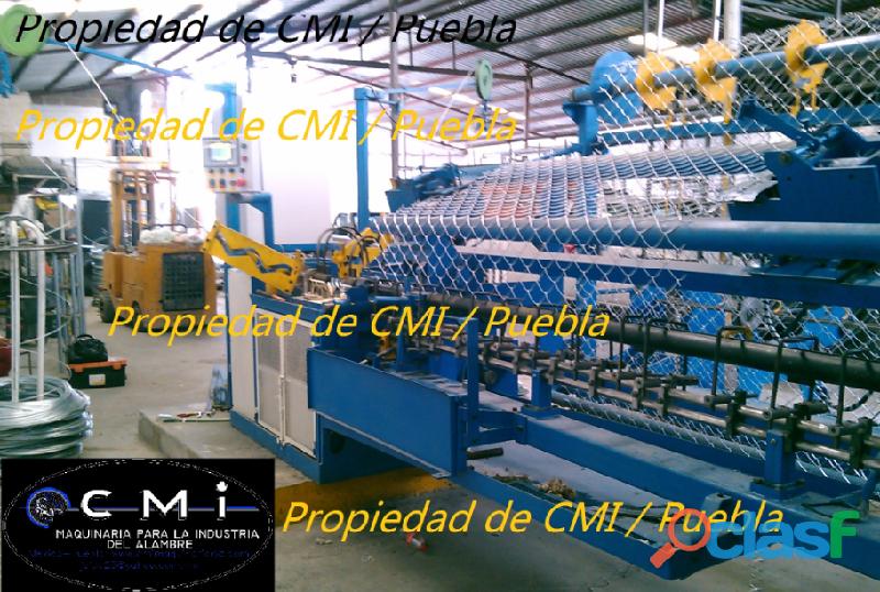 Maquinas para produccion de malla ciclonica,criba,hexagonal,cinta concertina