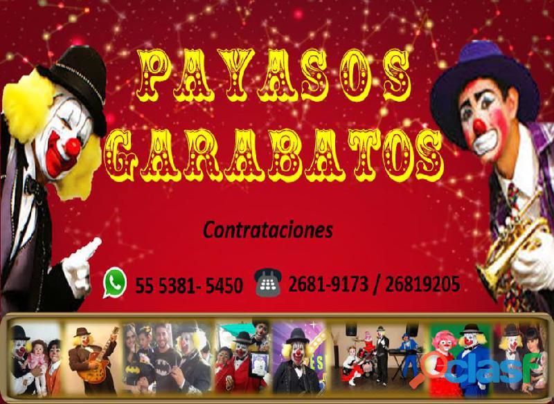 PAYASOS MUSICALES DE CIRCO 3