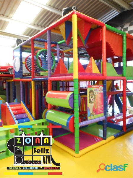 Juegos modulares tipo play ground