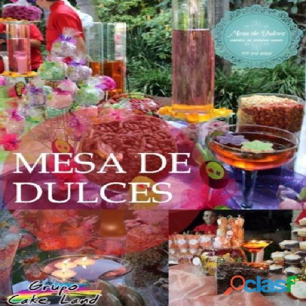 Mesa de dulces temática, candy bar
